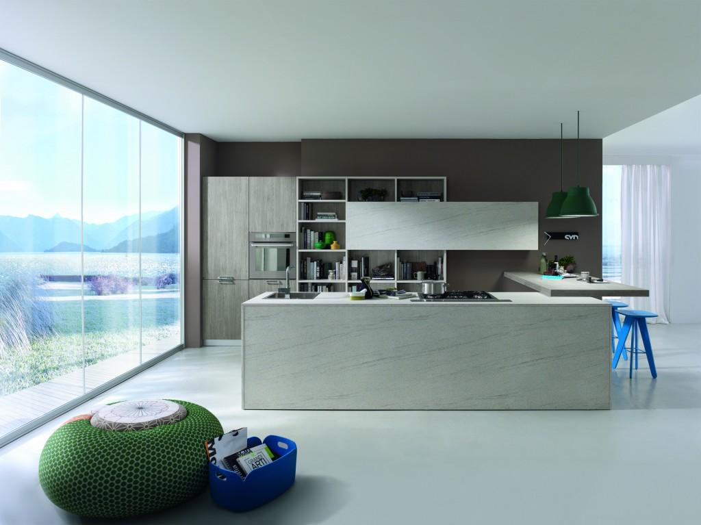 Cocinas modernas dise o de cocinas atenea interiors for Diseno cocinas modernas